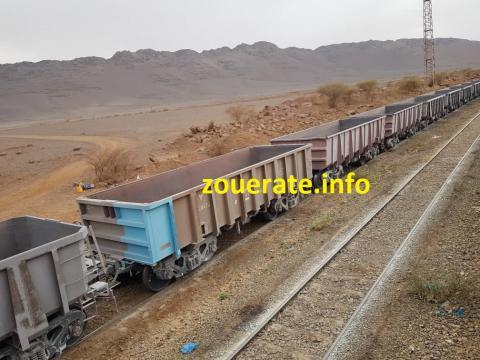قطار لشركة اسنيم - ازويرات إنفو/ أرشيف