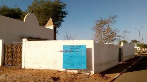 صورة مقر الكنيسة السابق الذي بدأت الأشغال لتحويله إلى مسجد