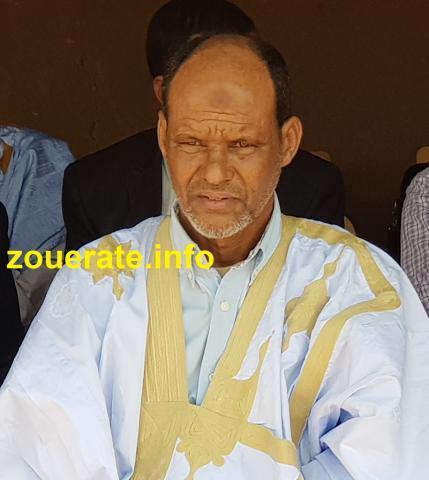 القاضي محمد ولد أنس- رئيس محكمة ولاية تيرس زمور