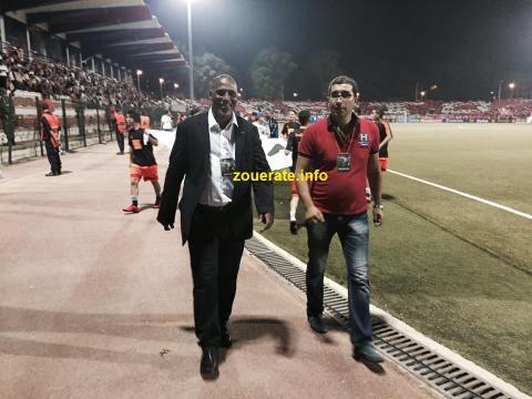 عبدات مفتشا للحكام في مباراة تطوان المغربي ضد تي بي موزامبيق