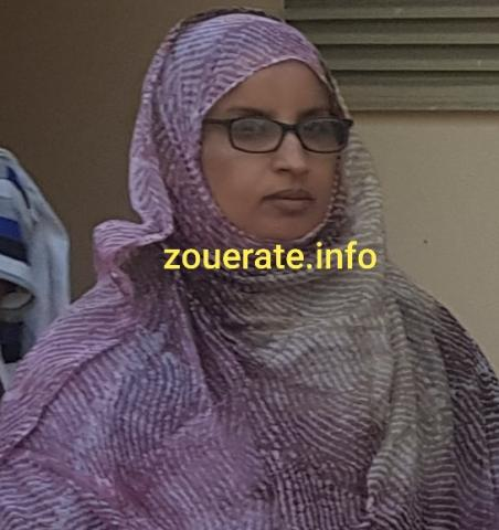 مريم منت سيدي ولد الديده - حزب تواصل