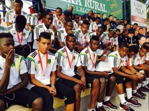 المنتخب الموريتاني للناشئين(الصورة من amisports.net)