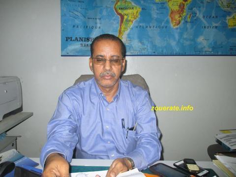 عالي ولد اعلاده-المدير الجهوي للتهذيب الوطني بولاية تيرس زمور
