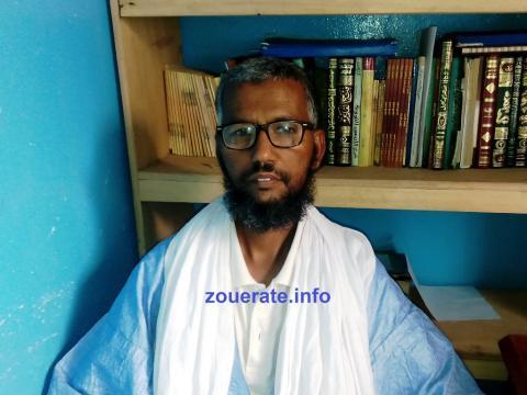الإمام سيد هيبه ولد احمد بزيد-إمام جامع الرضوان بازويرات