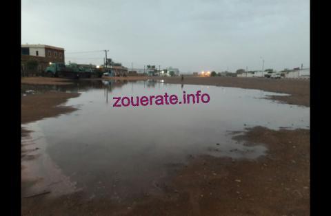 اثار الأمطار ليلة البارحة (أزويرات)