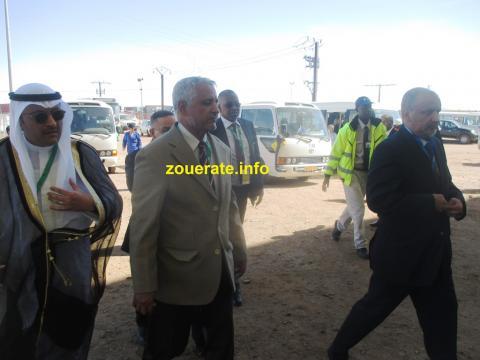 رئيس مجلس إدارة اسنيم أثناء وصوله الى قاعة الحفل