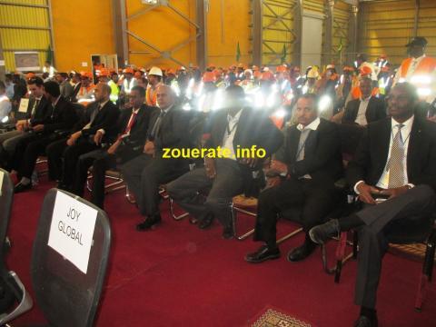رؤساء القطاعات في اسنيم ازويرات