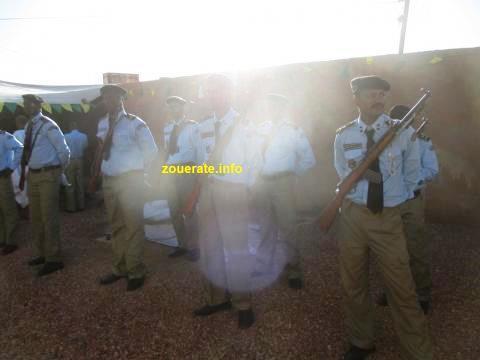 أفراد من شرطة ازويرات-ارشيف