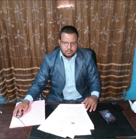 محمد المختار ولد الطالب سيدي المفتش الجهوي للشغل في تيرس سابقا