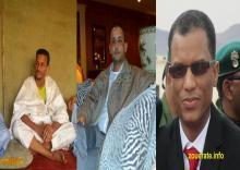 من اليمين الإطار بمب ولد بنيوك والإطار ابراهيم ولد احمد ديده والإطار عبد الله ولد احمد