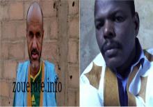 من اليمين: اسويدات ولد الشيباني ومحمد المختار ولد ابي