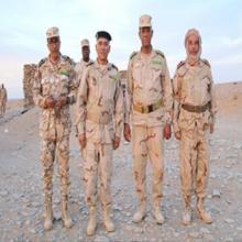 صورة الوفد مع قائد المنطقة العسكرية الثانية في تيرس زمور