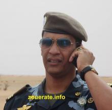 عبد الفتاح ولد عبد الله - قائد وحدة التجمع العام لأمن الطرق في ازويرات