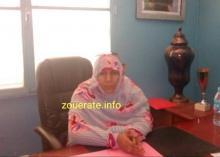 مريم منت بشراي-عمدة  بلدية افديرك