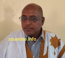 سيد ولد شغالي ولد بوه-الأمين الإتحادي ل UPR في تيرس زمور