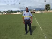 عبدات في ساوتومي بوسط افريقيا خلال مباراة المغرب ضد ساتومي