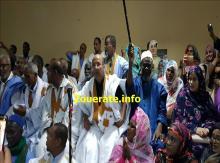 ولد المالحة وسط رؤساء الوحدات المائة الميدون له ضمن مهرجان في دار الشباب