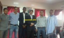 والي تيرس زمور مع أعضاء مكتب قدماء ازويرات