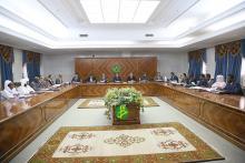 جلسة مجلس الوزراء الموريتاني-تصوير الوكالة الموريتانية للأنباء