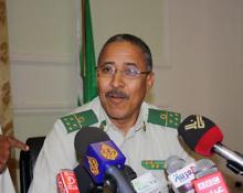 الجنرال ابراهيم فال ولد الشيباني القائد الجديد للمنطقة العسكرية الثانية بتيرس زمور