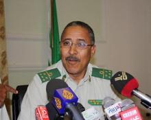 الجنرال ابراهيم فال ولد الشيباني -قائد المنطقة العسكرية الثانية بتيرس زمور سابقا