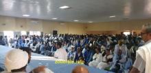 المنقبون خلال اجتماع سابق في دار الشباب بازويرات(ارشيف)