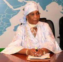 كمبا با- وزيرة الشباب والرياضة في موريتانيا