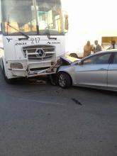 صورة من الحادث- من صفحة المدون أحمد باب