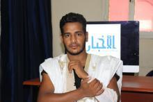 عضو المكتب التنفيذي لاتحاد الطلبة والمتدربين الموريتانيين بالجزائر الطالب محمد يحي ولد السعيد
