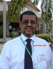 الدكتور محمد ولد احمدو ولد عبدي-المدير الجهوي للعمل الصحي بولاية تيرس زمور