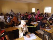 قاعة امتحانات الإمتياز على مستوى ازويرات-ازويرات إنفو/أرشيف