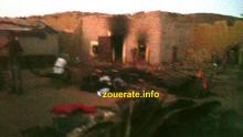 صور من آثار الحريق هذا المساء في افديرك (ونعتذر لمتصفحينا الكرام  عن ردائة الصورة)