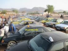 السائقون قدموا مع سياراتهم إلى مقر الإجتماع في الساحة الواقعة بين حيي الحيط وأم 6