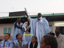 مناديب العامة لعمال موريتانيا أمام حشد من العمال