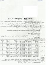 بلاغ وزارة التهذيب المتعلق بترتيبات الإمتحانات التمهيدية للباكولوريا.