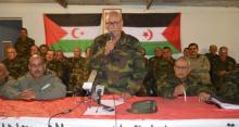 الرئيس الصحراوي ابراهيم غالي خلال كلمته