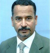 صورة المرابط محمد لخديم احد ابناء مدينة ازويرات