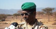 الجنرال محمدن ولد بلال قائد المنطقة العسكرية في تيرس زمور